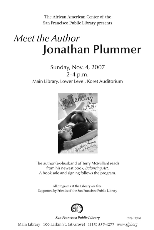 Jonathan Plummer event