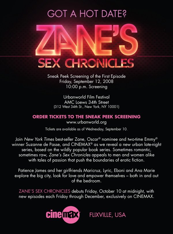 Very Watch zane s sex chronicles episodes for